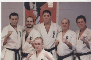 Michel DesNeiges, Shihan Guy Salter, Shinkyokushin karate, Canada